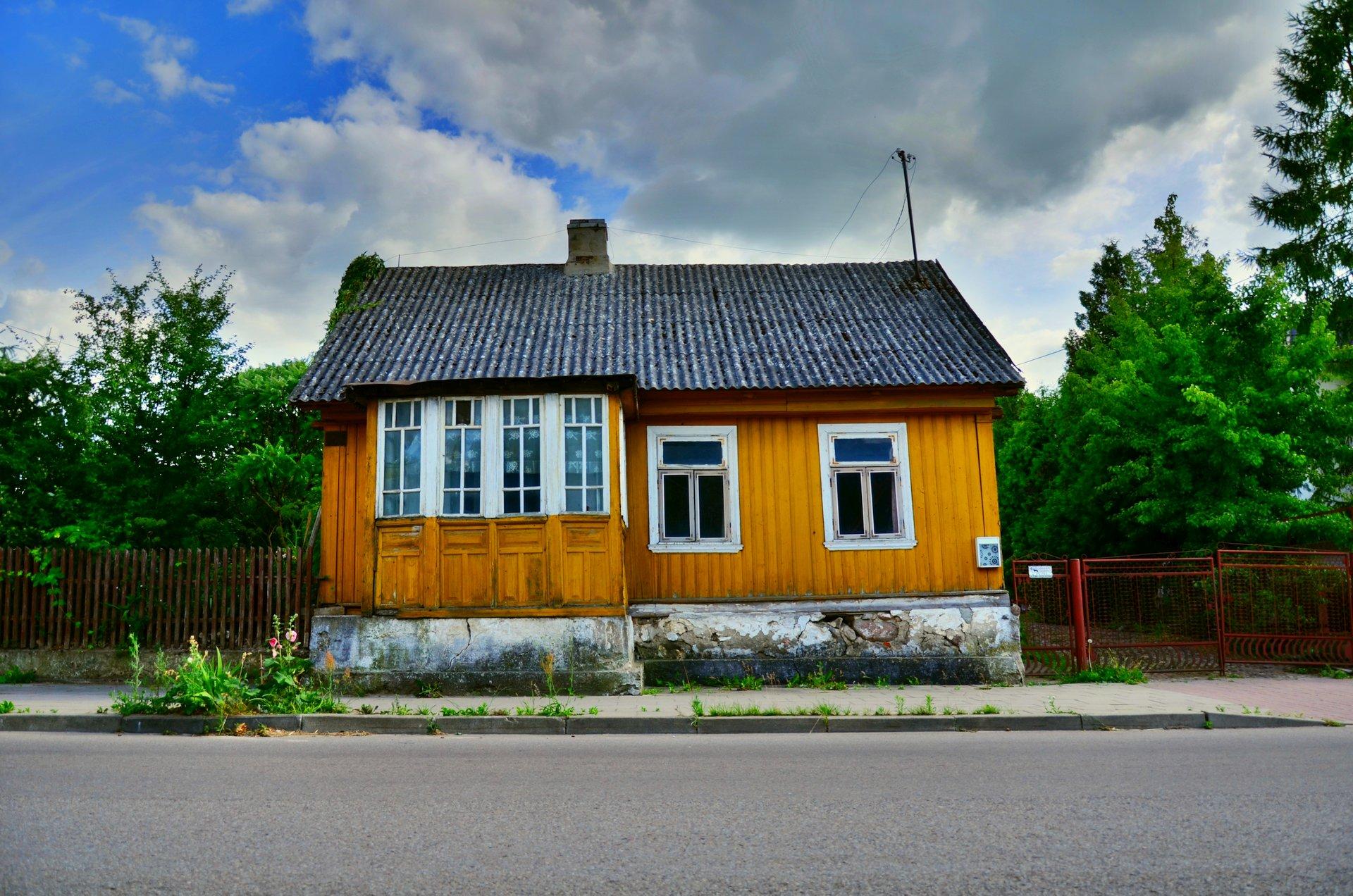 Suchowola Goniądzka dom drewnianyfree photo darmowe zdjęcie