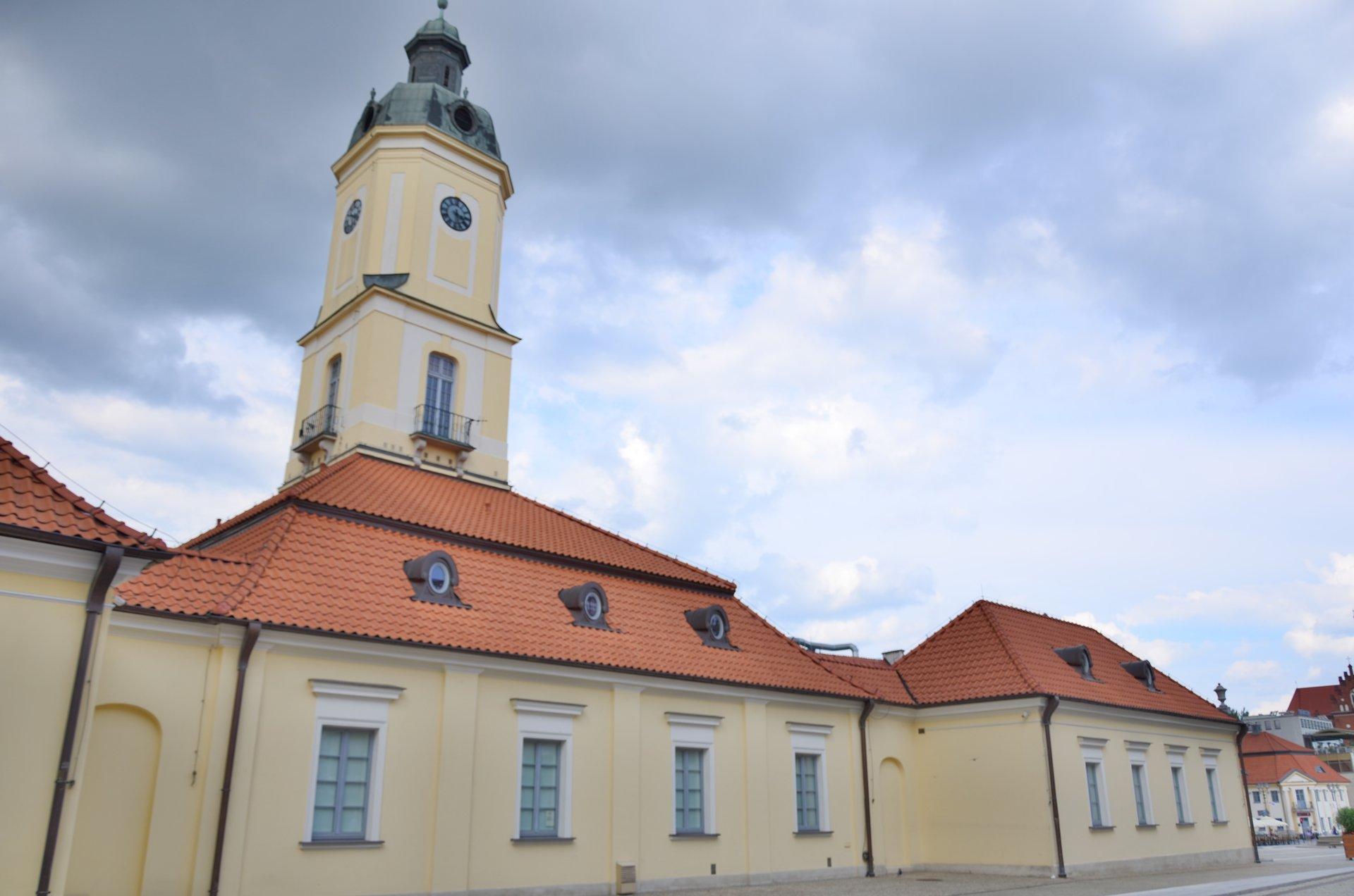 Białystok Rynek Kościuszki centrum ratuszfree photo darmowe zdjęcie