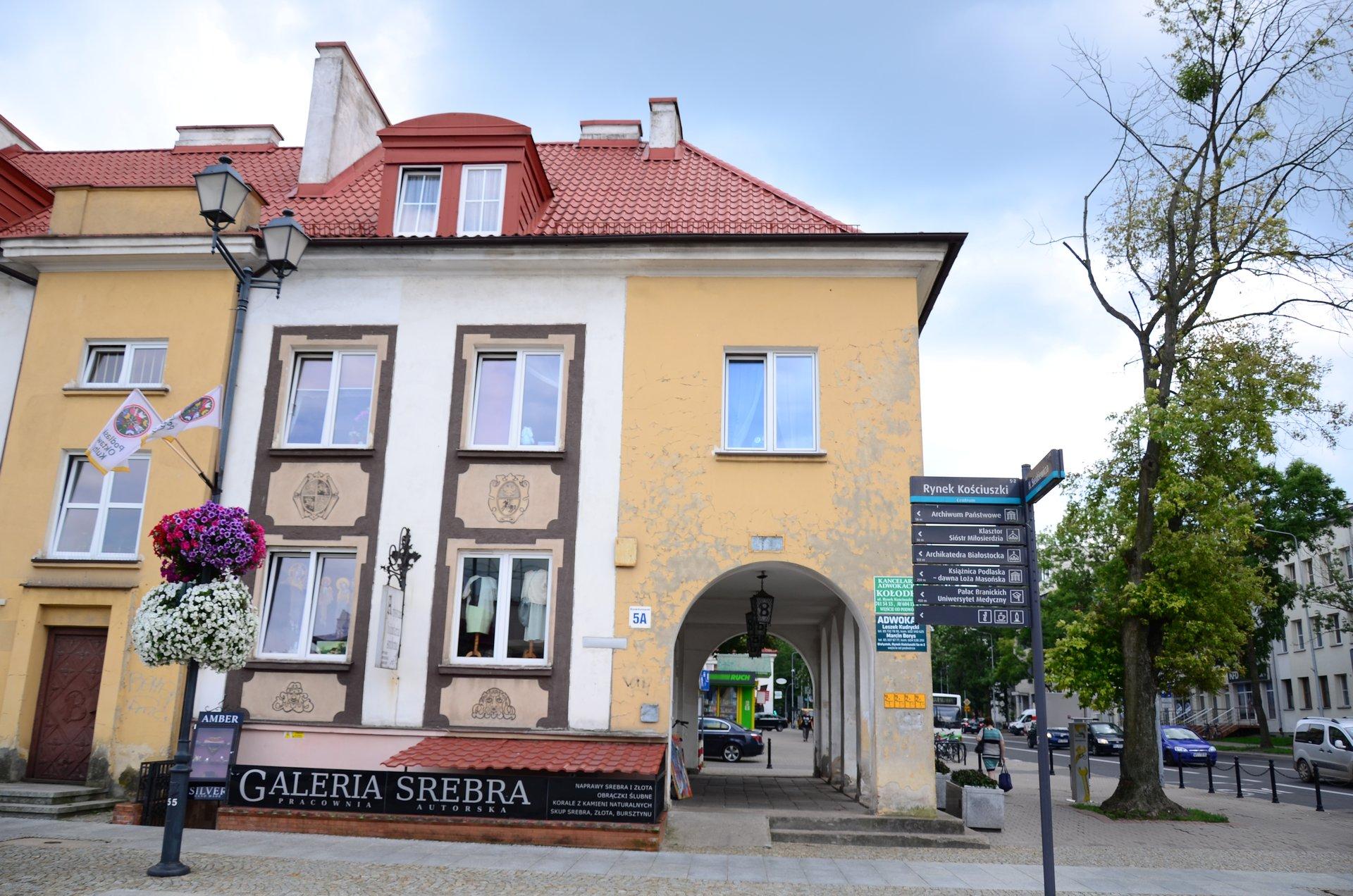 Białystok centrum Rynek Kościuszkifree photo darmowe zdjęcie