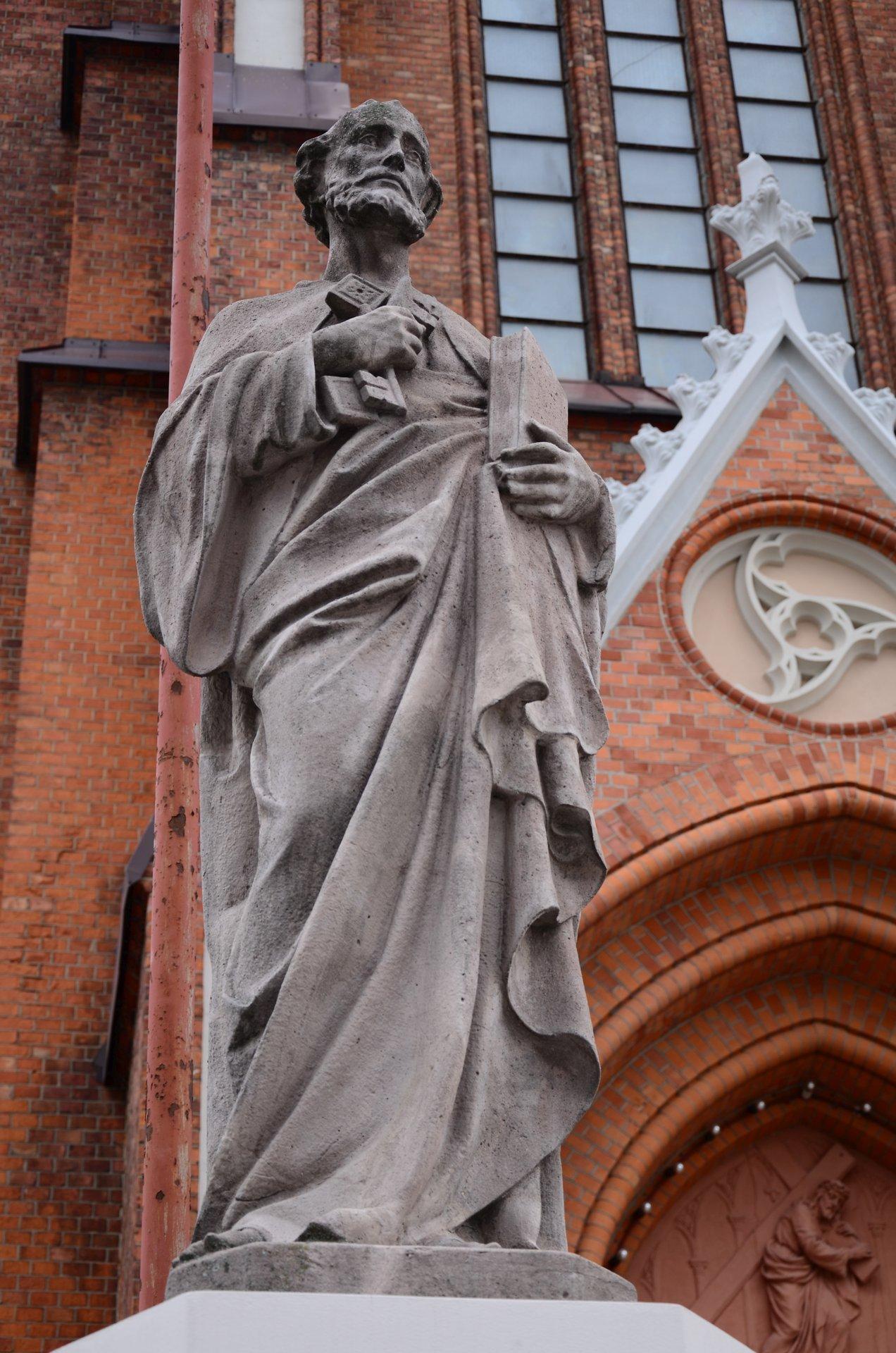Białystok Katedra Bazylika Mniejsza Fara kościół religia katolicyzm centrum