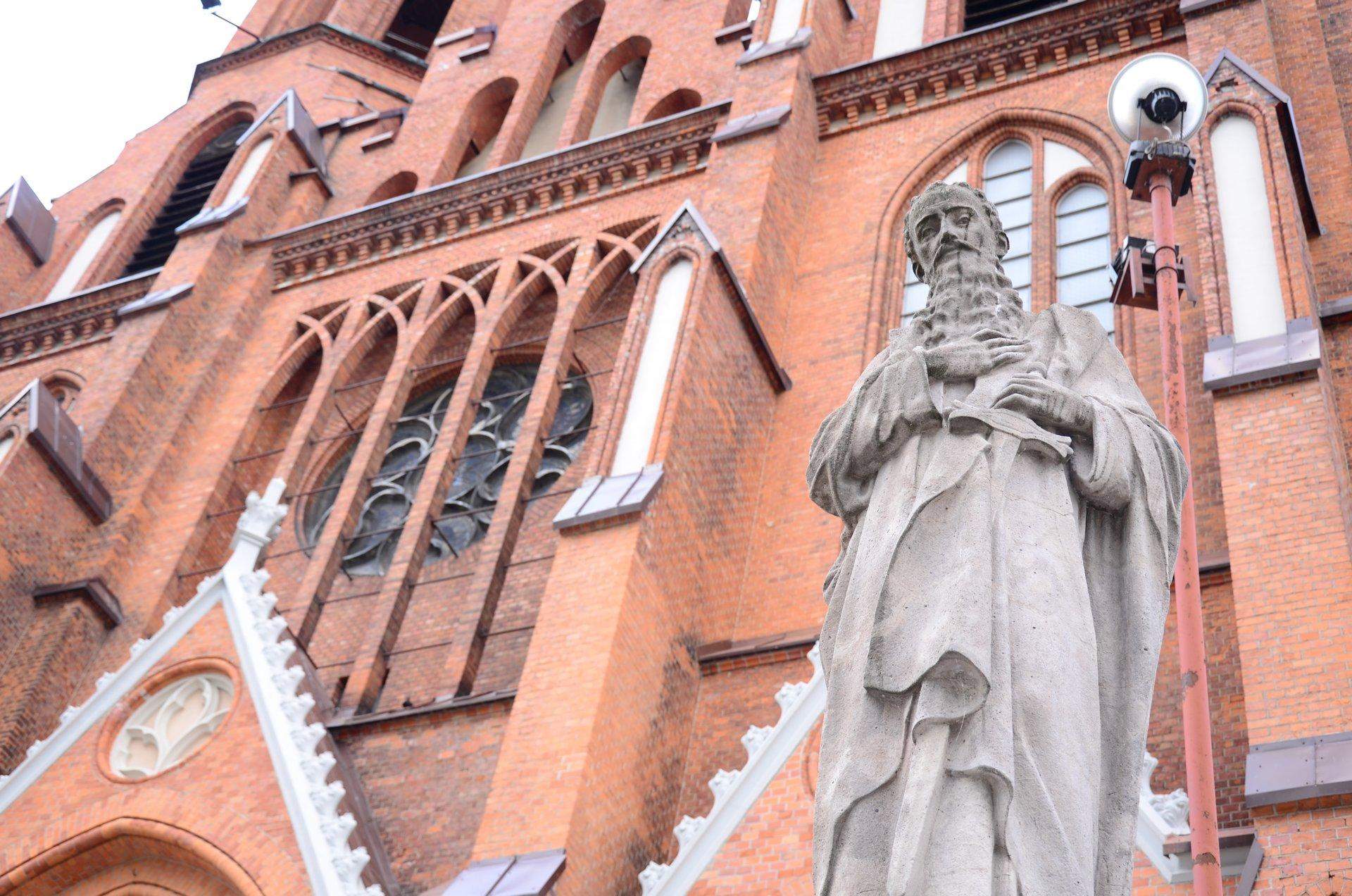 Białystok Katedra Bazylika Mniejsza Fara kościół religia katolicyzm centrumfree photo darmowe zdjęcie
