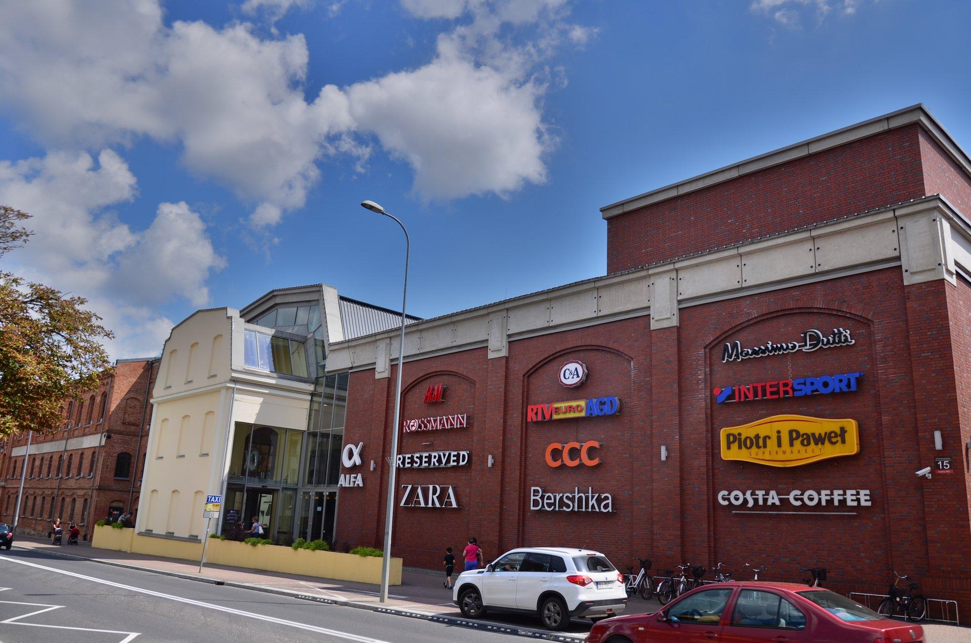 Białystok Galeria Alfa handlowa handel Świętojańskafree photo darmowe zdjęcie