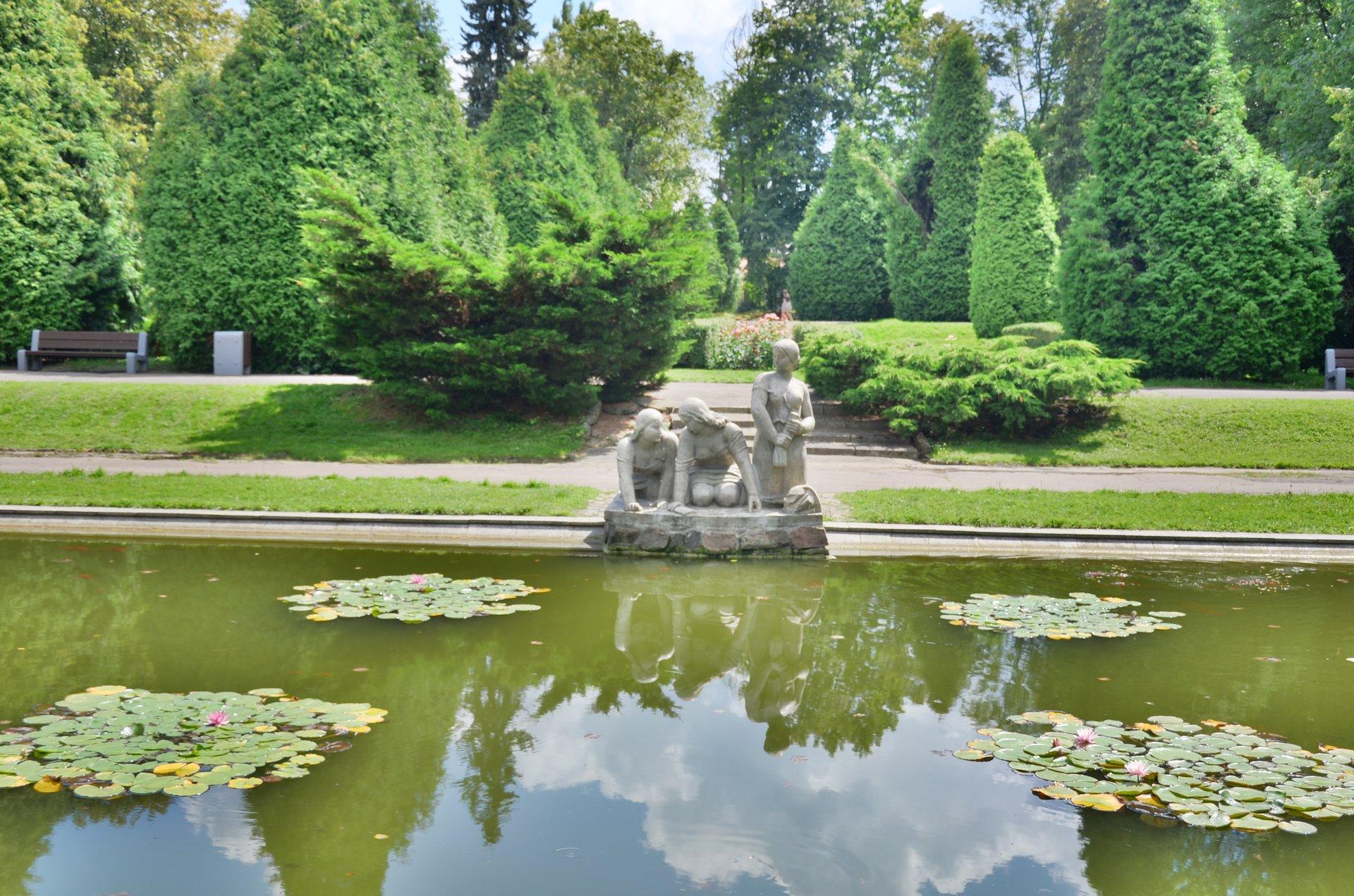 Białystok park Planty praczkifree photo darmowe zdjęcie