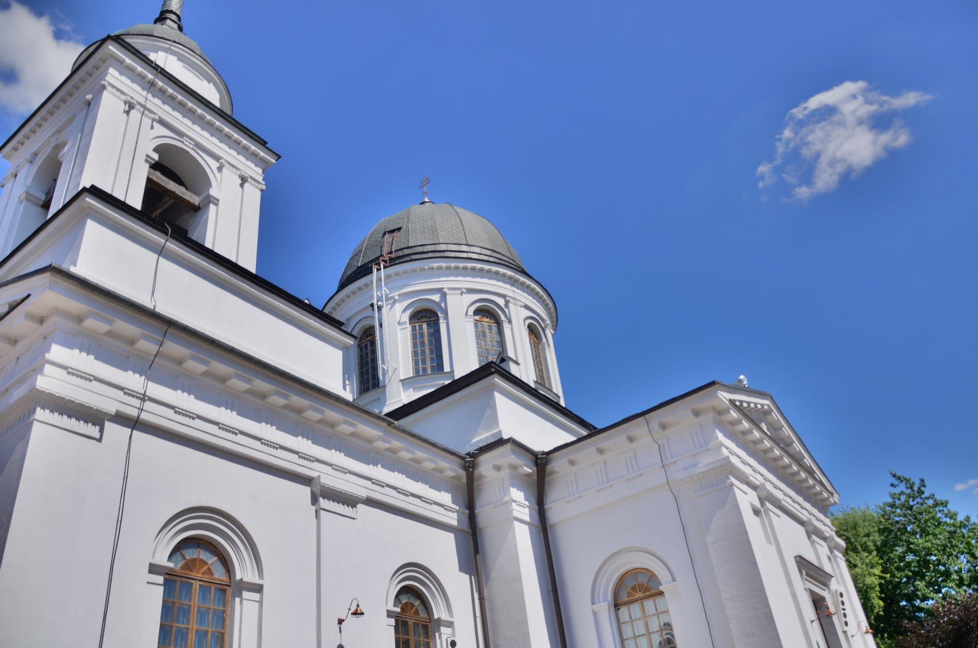 Białystok św. Mikołaja cerkiew prawosławie religiafree photo darmowe zdjęcie