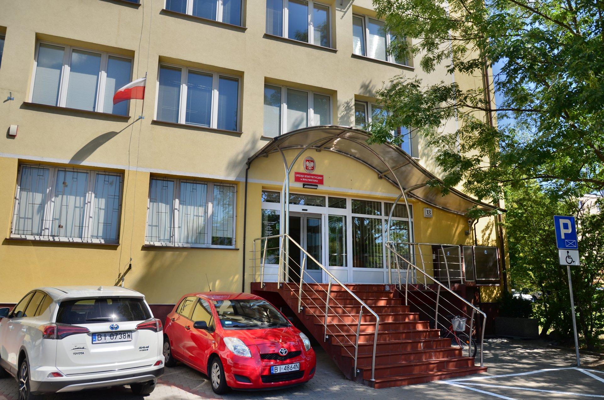 Białystok Krakowska Główny Urząd Statystyczny GUSfree photo darmowe zdjęcie