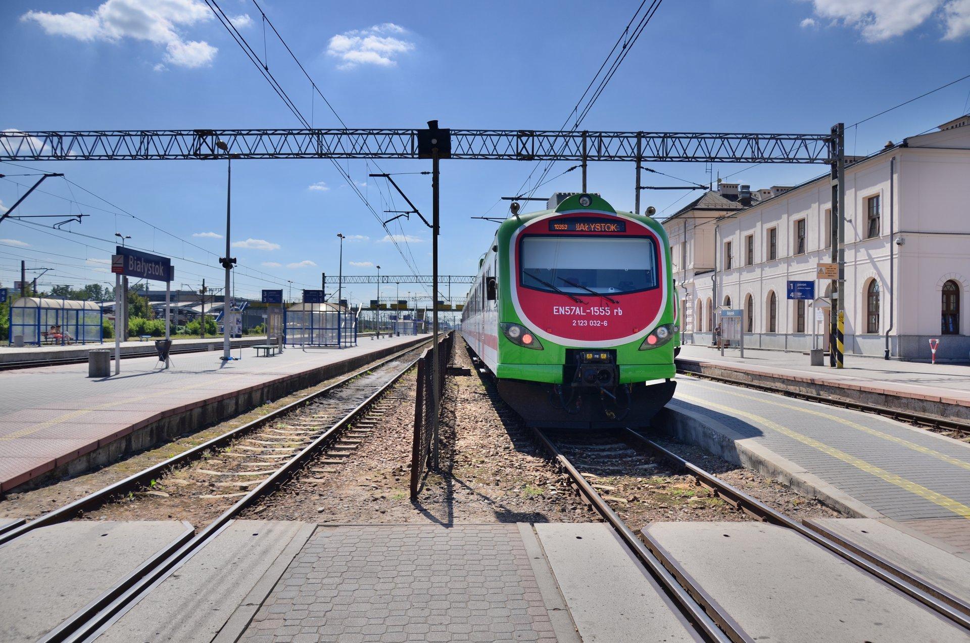 Białystok dworzec kolejowy PKPfree photo darmowe zdjęcie