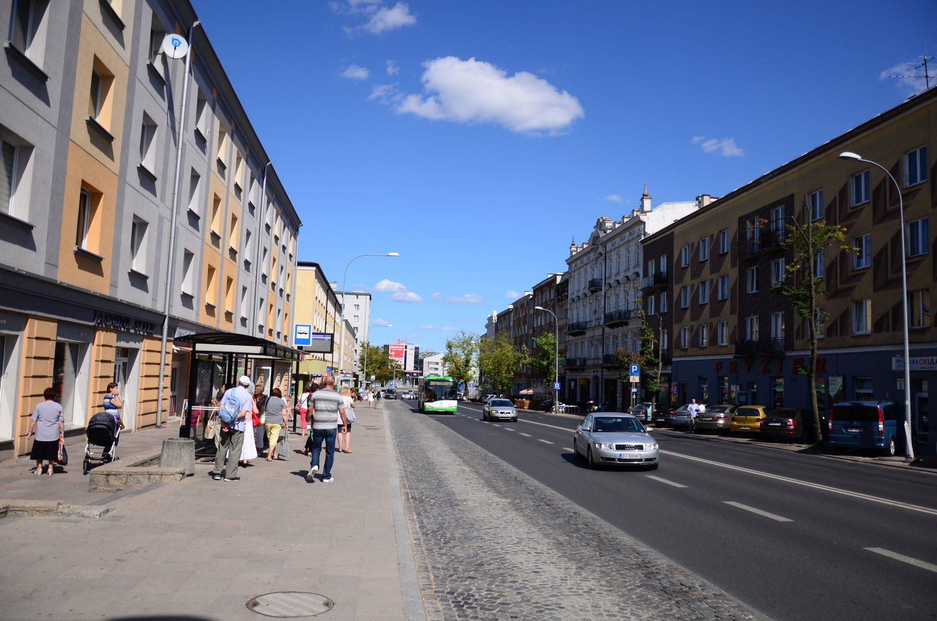 Białystok Sienkiewicza kamienica centrumfree photo darmowe zdjęcie