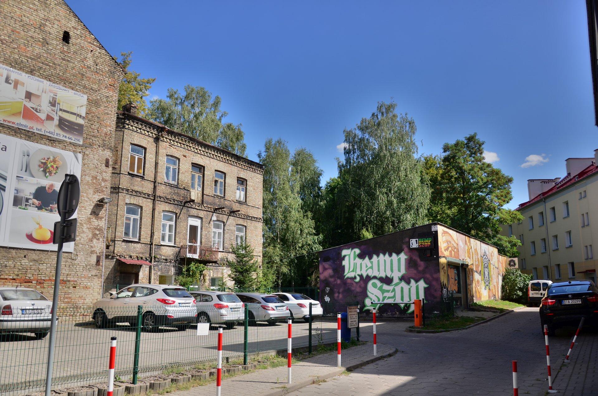 Białystok Zamenhofa centrumfree photo darmowe zdjęcie