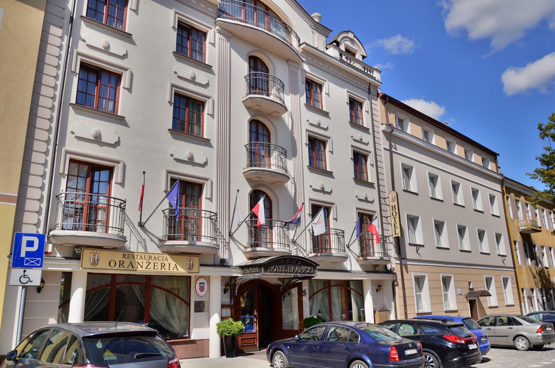 Białystok Zamenhofa centrum hotel Branickifree photo darmowe zdjęcie