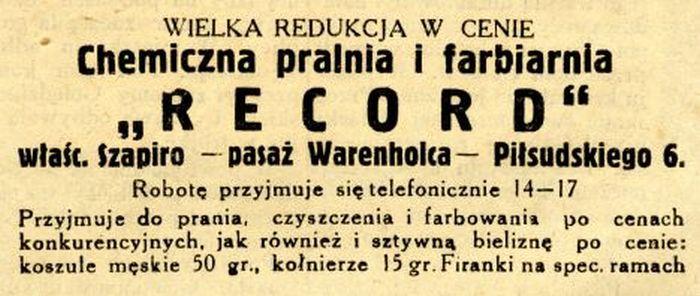 Pasaż Warnholca– najstarsza galeria handlowa w Białymstoku