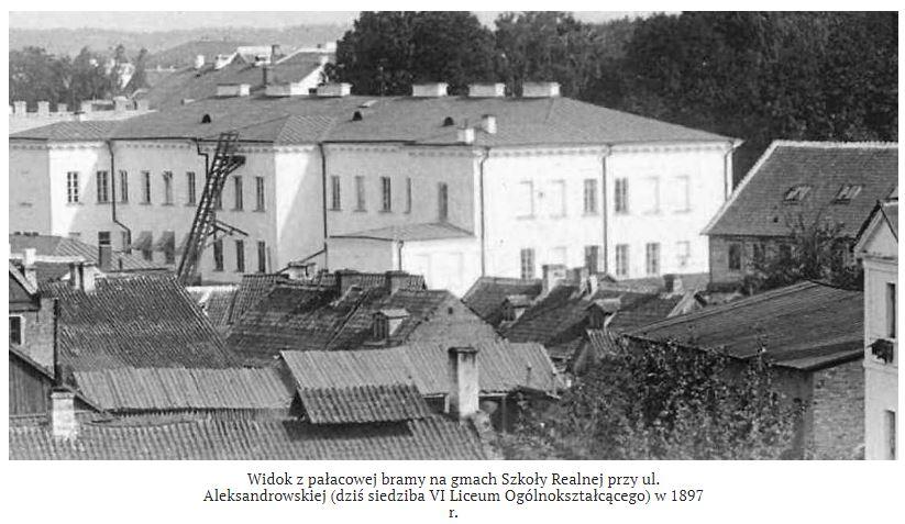 Tak wyglądała Szkoła Realna w Białymstoku