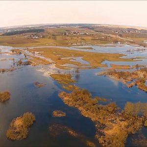 Rzeki się podniosły. Wkrótce może być powódź albo piękne rozlewiska.