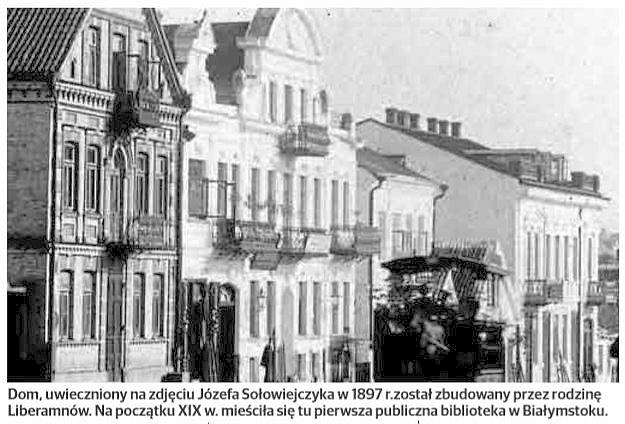 Sienkiewicza 17. Biblioteka Fryderyka Wachtlera