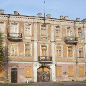 Prezydent Truskolaski zaprasza gościa z USA do oglądania ruiny?