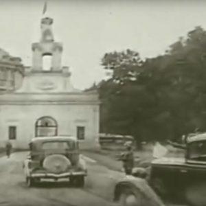Ten film to absolutny unikat! Niemcy przekazują Sowietom Białystok w Pałacu Branickich