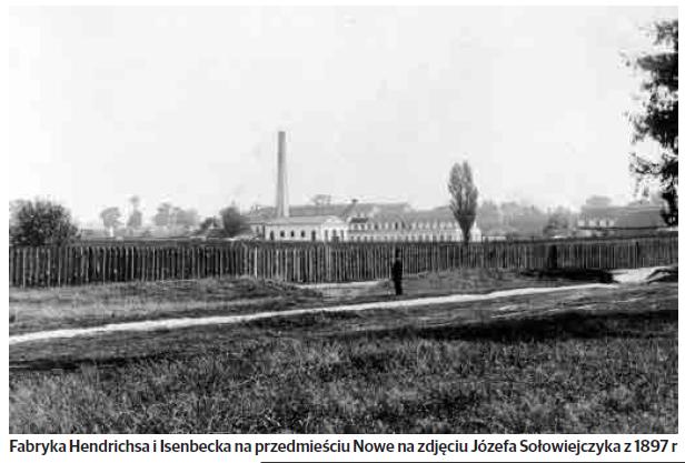 Ulica Mickiewicza i przedmieście Nowe aż do granic Lasu Zwierzynieckiego