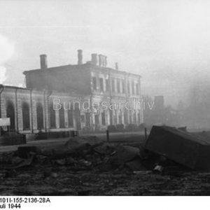 To były czarne dni w dziejach Białegostoku. Kilka tysięcy budynków legło w gruzach.