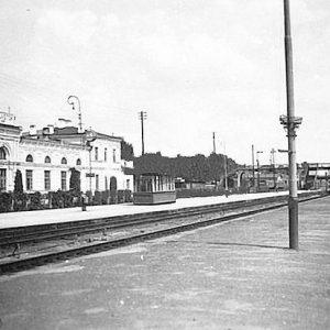 Obława na p. Bronisława na stacji Białystok
