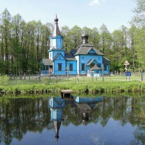 Piękna cerkiew ukryta w lesie. Tutaj objawiła się kobiecie Matka Boża.