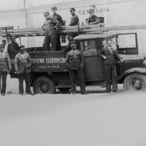 Pierwsza elektrownia w mieście powstała z prywatnej inicjatywy