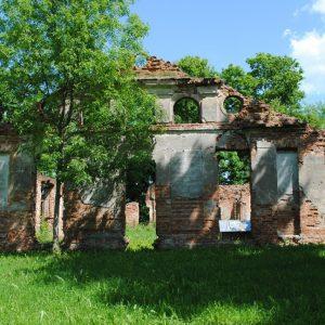 To był kiedyś piękny pałac. Dziś pozostały tylko ruiny.