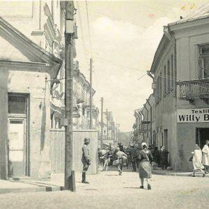 Likwidacja białostockiego getta. Niemcy wywozili Żydów do obozów śmierci.