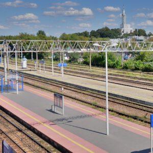 Nareszcie! Stacja Białystok będzie miała zadaszone perony!