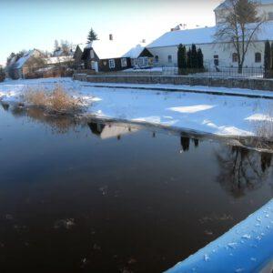 Tykocin zimą jest przepiękny! Ten film to pokazuje.