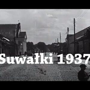 Tak wyglądały przedwojenne Suwałki. Zobacz film z 1937 roku.