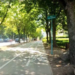 Nowe drogi rowerowe w Białymstoku już gotowe. Teraz przejazd przez centrum jest wygodniejszy.