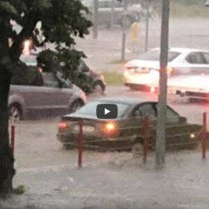 Kolejna powódź w Białymstoku. Kiedy Truskolaski zacznie coś robić?