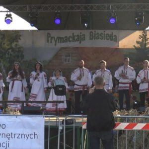 Białoruski Festiwal Prymackaja Biasieda w Michałowie to wyjątkowa impreza. Zobacz jak grali w tym roku.