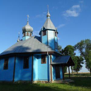 To najmłodsza, drewniana cerkiew w Polsce. Stoi na Podlasiu.